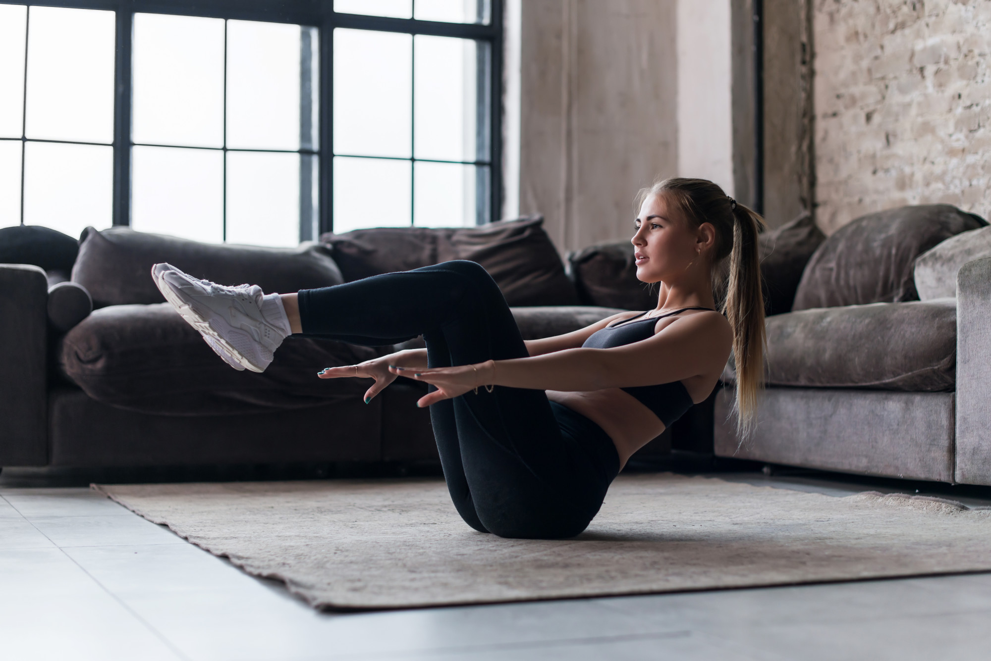 Get in shape at home with these no-equipment-needed exercises.