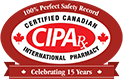 Canadian International Pharmacy Association Tag