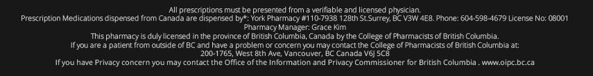 OnlineCanadianPharmacy Disclaimer
